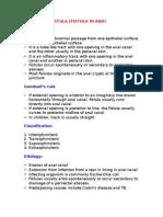 Anorectal Fistula