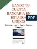 Cuenta Bancaria Usa
