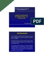 ASPECTOS GEOTÉCNICOS DEL SISMO DE PICO-ICA 2007