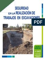 Seguridad Trabajo Excavaciones