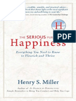 The Serious Pursuit of Happiness (first 3 chapters)