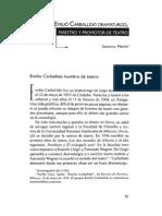 Socorro Merlín - Emilio Carballido Dramaturgo, maestro y promotor de teatro