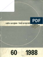 Arhitektura Bosne i Hercegovine - Radio Sarajevo - treći program, br. 60, god. 1, 1988.