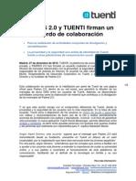 Acuerdo de colaboración Padres 2.0 y Tuenti