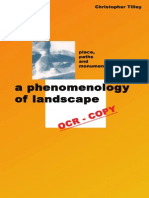 A Phenomenology of Landscape Places Paths and Monuments Explorations i.ebooKOID (2)