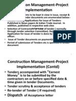 9. Construction Management
