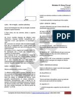 Portugues-Carreira Fiscal-CERS2011-MODULO 01 Area Fiscal QUESTOES