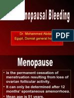 Post Meno Bleeding
