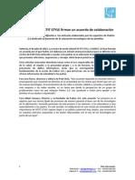 Acuerdo Padres 2.0 y Petit Style - Nota de Prensa