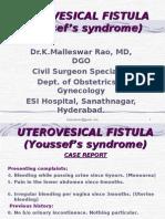 Uterovesical Fistula