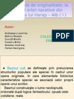 Harap - Alb (Umorul, Dialogul, Oralitatea)