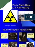the abcs of radioactivity