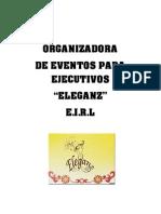 PROYECTO PRODUCTIVO ELEGANZ EIRL