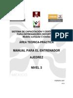 Manual Para El Entrenador de Ajedrez, Nivel 3 - Guil Russek