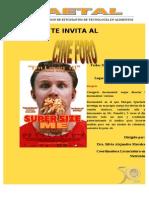 Afiche Cine Foro AETAL