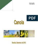 Canola - apresentação