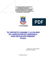 Proyecto Canaima Vzla Microsoft Office Word