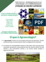Seminário Agroecologia