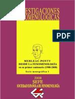 Merleau-Ponty desde la Fenomenología