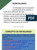 PIROMETALURGIA (2)