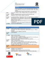 Programa Congreso Interdisciplinario Familia