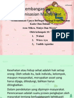 Pengembangan Dan Pengorganisasian Masyarakat.pptx