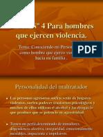 Taller IV para hombres que ejercen vionlencia.ppt