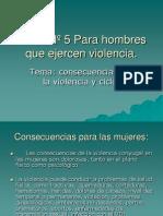 Taller V para hombres que ejercen vionlencia.ppt