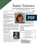 MSTA Spring 2009 Newsletter