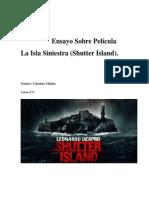 Ensayo Sobre Película La Isla Siniestra