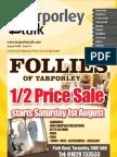 Tarporley Talk August 2009