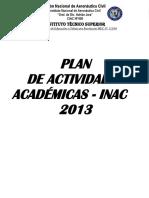Plan Academico 2013