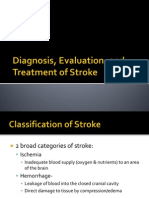 Stroke Diagnosis, Evaluation, And Treatment of