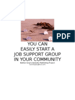 Start Your Own Job Support Group