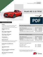 Audi a5 2 0t Price