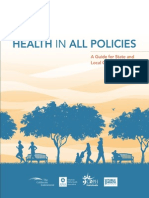 Health in All Policies Guide 169 Pages