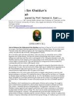 Alchemy in Ibn Khaldun