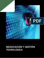 NEGOCIACIÓN Y GESTIÓN TECNOLÓGICA