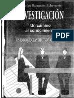 Investigacion Camino Al Conocimiento Barrantes