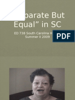 Separate but Equal Project