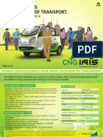 Tata Magic Iris CNG Brochure