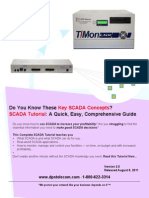 SCADA Tutorial - A Fast Introduction to SCADA Fundamentals and Implementation