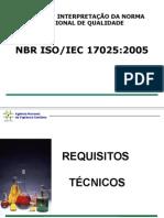 NBR ISO/IEC 17025:2005-INTERPRETAÇÃO