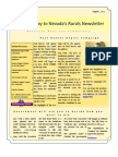 Volume 1 Number 4 Nye-Gateway to Nevada's Rurals Newsletter