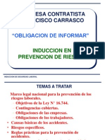 Induccion de Seguridad General Fcc