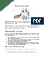 Mobile marketing la gi