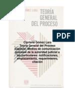 Medios de Comunicacion Procesal de La Autoridad Judicial a Los Particulares