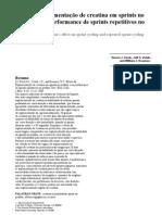 Fleck et al - Suplementação Creatina - 2000