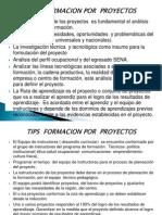 Tips formación por proyectos