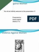 voilence against women ppt presentation.ppsx